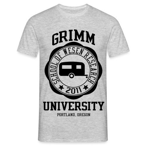 Grimm University 1 png - Men's T-Shirt