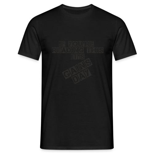 gainsday - Herre-T-shirt