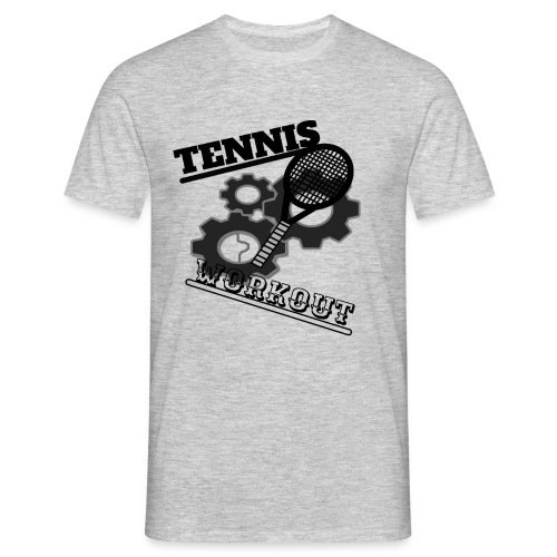 TENNIS WORKOUT - Men's T-Shirt
