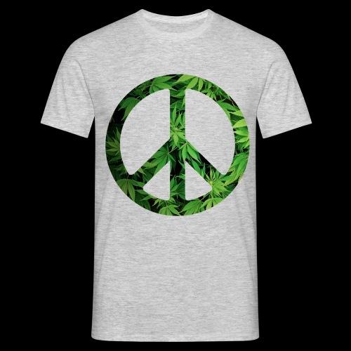 Cannapeace - Men's T-Shirt
