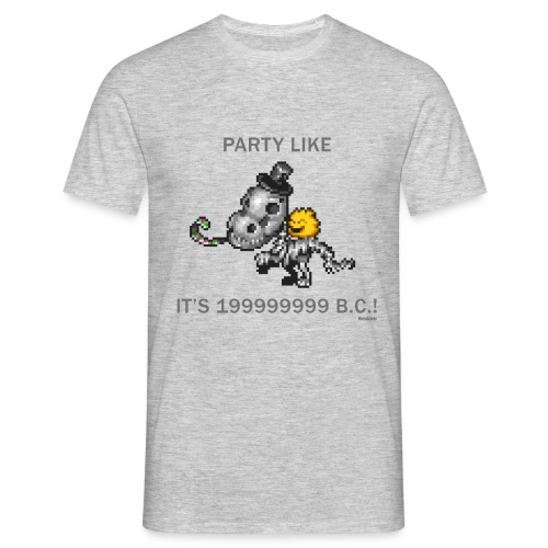 Dino Party - Männer T-Shirt