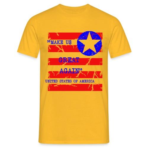 MAKE USG REAT AGAIN - T-shirt herr