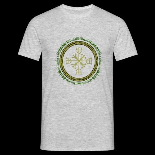 Norse Runes with Aegishjalmur 2017 - Men's T-Shirt