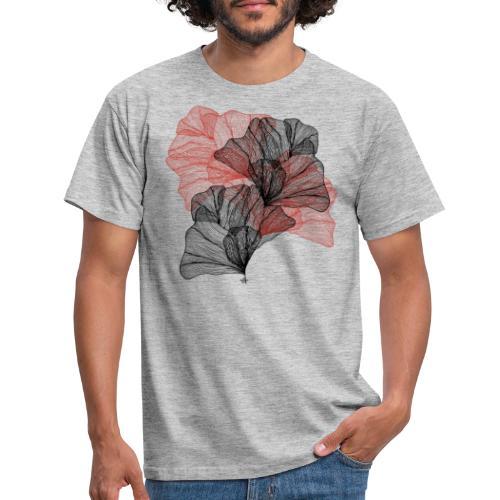 Feuilles filaires - T-shirt Homme
