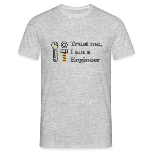 Luota minuun, olen insinööri - Miesten t-paita