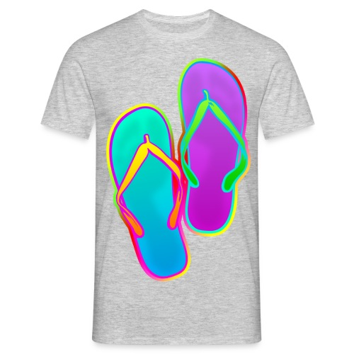 Tongs - T-shirt Homme