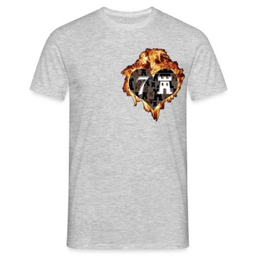 logoichliebe7b - Männer T-Shirt