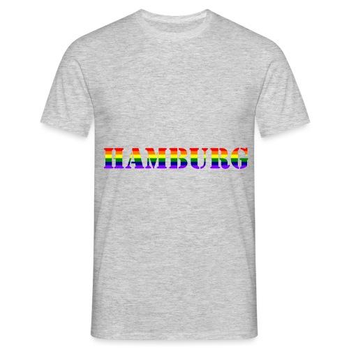 Hamburg Rainbow #1 - Männer T-Shirt