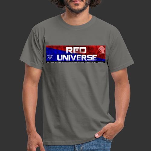 Red Universe bannière - T-shirt Homme
