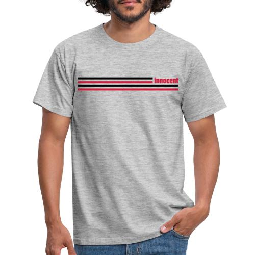 innocent stripes - Männer T-Shirt