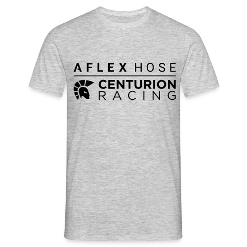 Aflex Hose Centurion Racing Logo - Men's T-Shirt