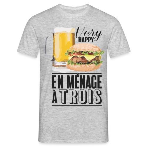 Ménage à trois - T-shirt Homme