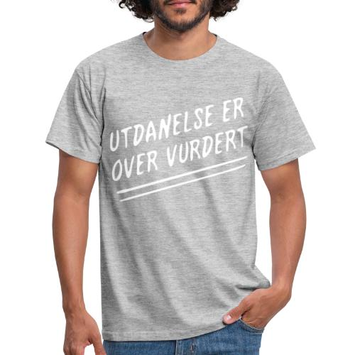 utdannelse01b - T-skjorte for menn