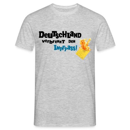 Schrift Pass png - Männer T-Shirt