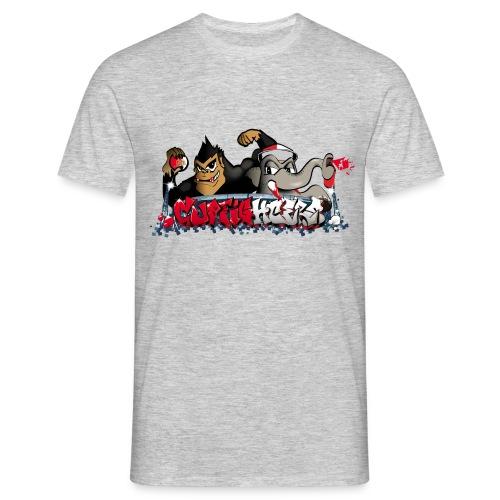 Cupfighters Rotterdam - Mannen T-shirt