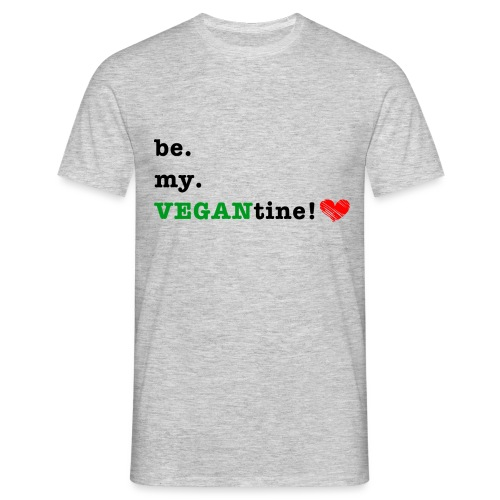 VEGANtine Green - Men's T-Shirt