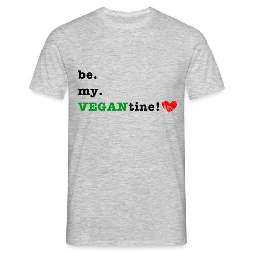 VEGANtine Green - Men's T-Shirt