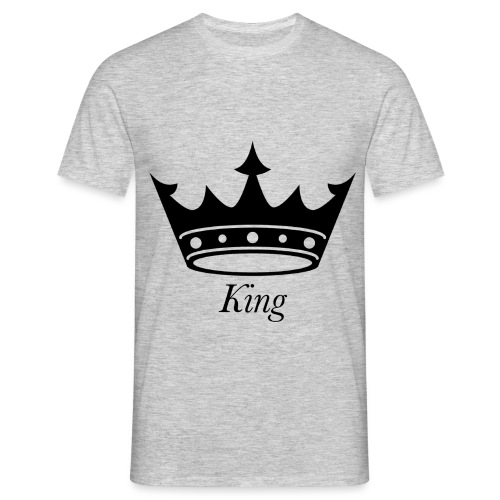 KING - Herre-T-shirt