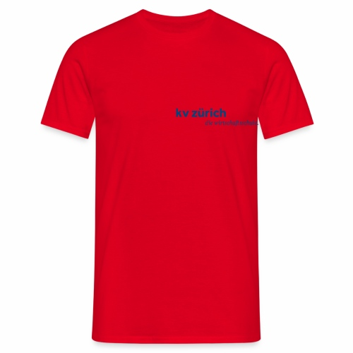 KVZ Logo Blau - Männer T-Shirt