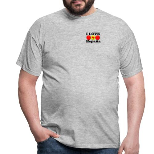 yo amo a España I love España - Camiseta hombre