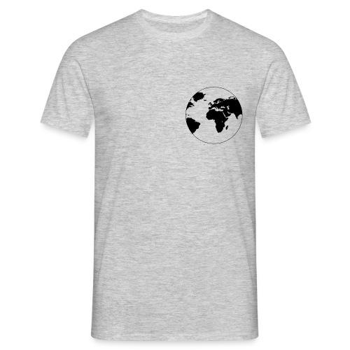 Cooles Design Erde - Männer T-Shirt
