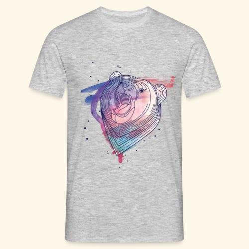 Moderner Bär - Männer T-Shirt