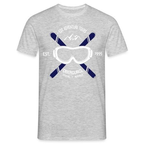 EAT Crossed Ski - Männer T-Shirt