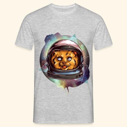 Space Katze - Männer T-Shirt