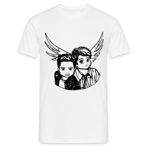 Destiel (Silhuet) - Herre-T-shirt