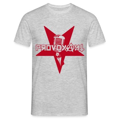 Provokant Logo vektor - Männer T-Shirt