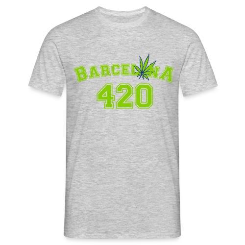 Barcelonaleaf 420 - Men's T-Shirt