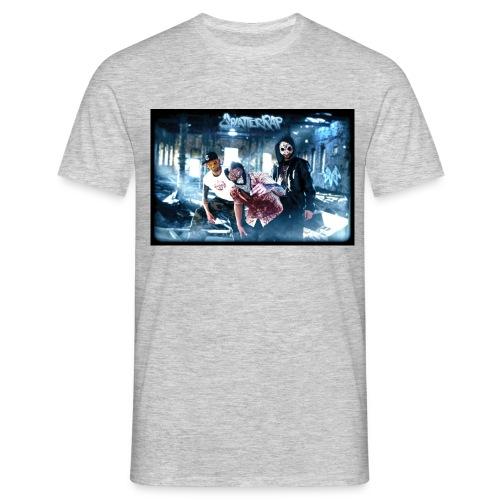 SplaTTerRAP - Männer T-Shirt