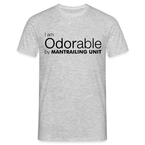 Iam odorable schwarz png - Männer T-Shirt
