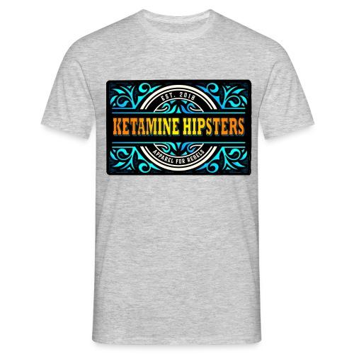 Black Vintage - KETAMINE HIPSTERS Apparel - Men's T-Shirt