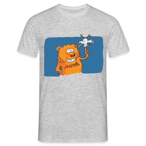 Le lion et l'oiseau - T-shirt Homme