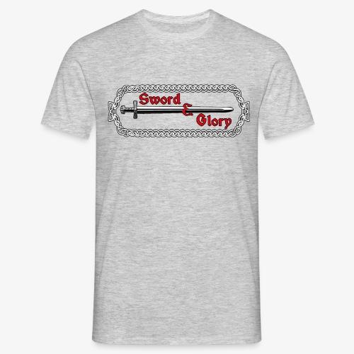 Sword & Glory Logo - Men's T-Shirt