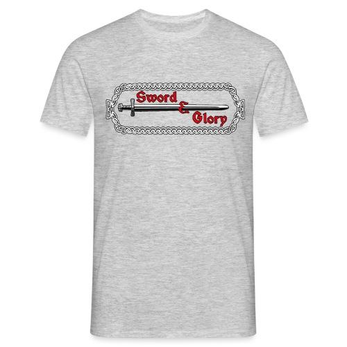 Sword & Glory Logo - Miesten t-paita