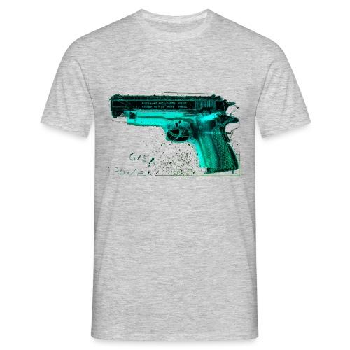 pistole10 - Männer T-Shirt