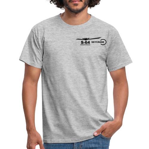 S64 SkyCrane Sign - Men's T-Shirt