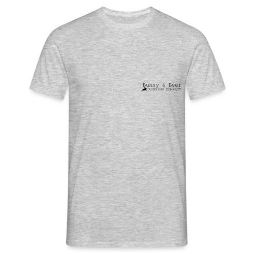 Bunny & Beer - black! - Männer T-Shirt