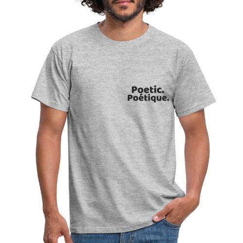 Poetic Poétique - T-shirt Homme