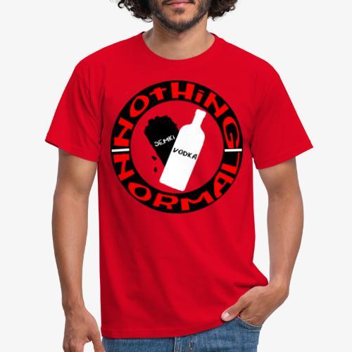 Semki and Vodka - Men's T-Shirt