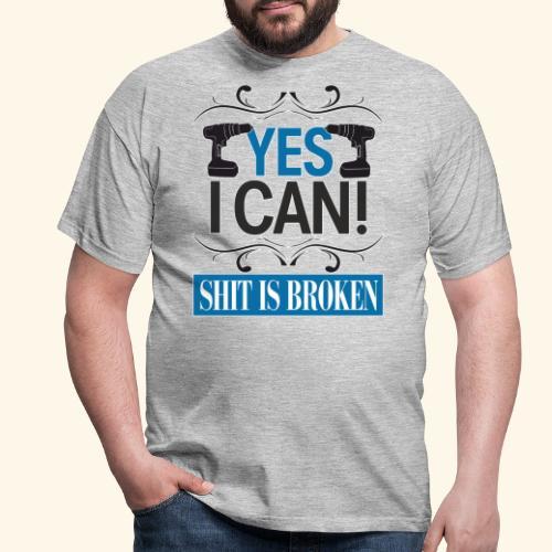 yes i can - Männer T-Shirt
