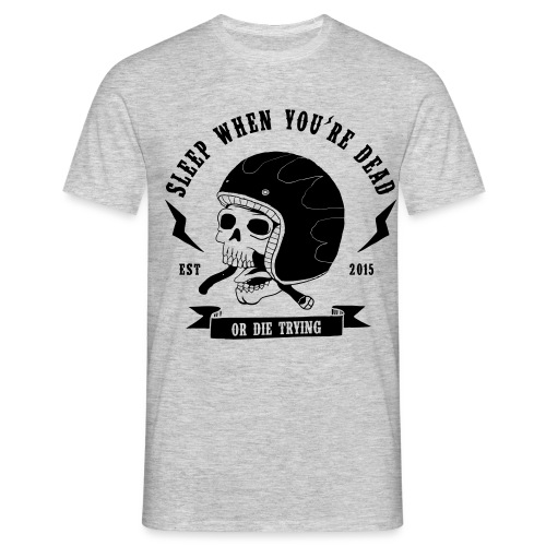 skull-dy-trying - T-shirt Homme