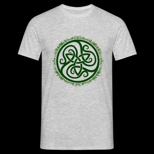 Green Celtic Triknot - Men's T-Shirt