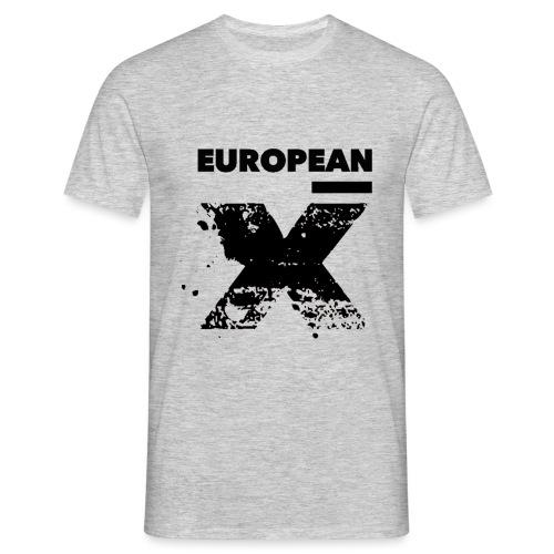 European X Black - Mannen T-shirt