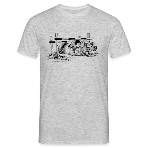 Thelwell Cartoon Pony Sturz - Männer T-Shirt