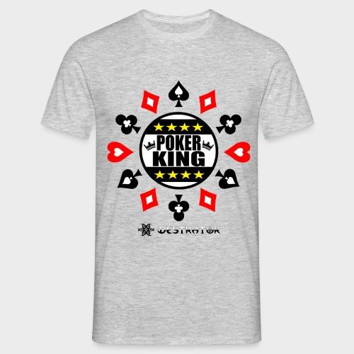 Destrator - Poker King - Männer T-Shirt