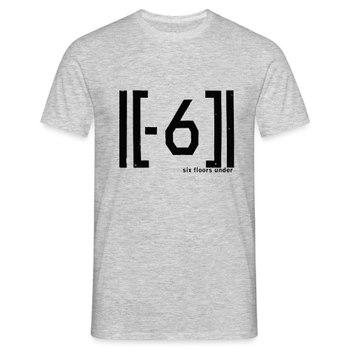 Six Floors Under Black - Men's T-Shirt
