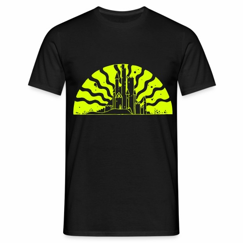 Fairytale Castle Sunrise - Männer T-Shirt